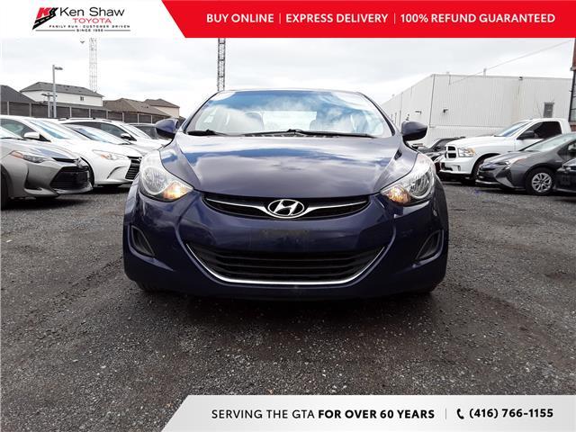 2013 Hyundai Elantra GL (Stk: 79724A) in Toronto - Image 1 of 12