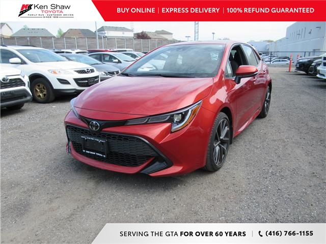 2019 Toyota Corolla Hatchback Base (Stk: 79657A) in Toronto - Image 1 of 18