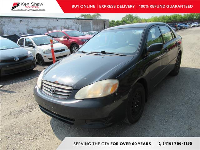 2004 Toyota Corolla CE (Stk: 8284XA) in Toronto - Image 1 of 12