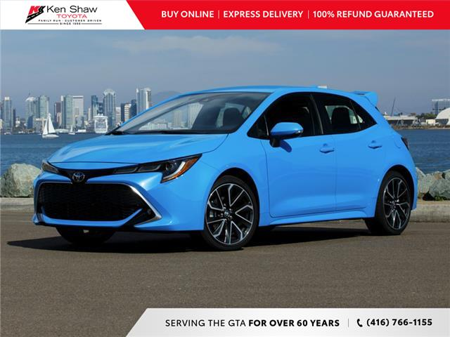 2020 Toyota Corolla Hatchback Base (Stk: 79876) in Toronto - Image 1 of 22