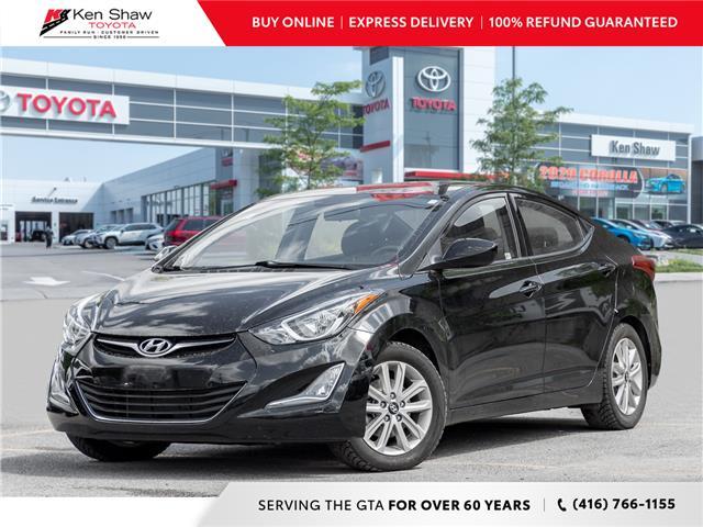 2016 Hyundai Elantra Sport Appearance (Stk: L1890XA) in Toronto - Image 1 of 19