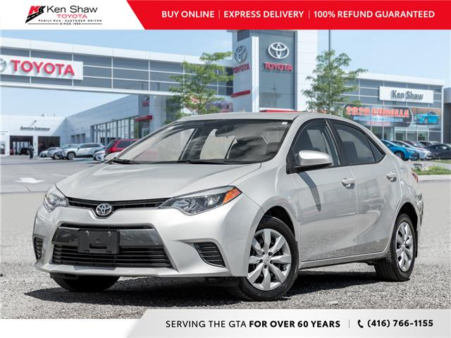 2016 Toyota Corolla LE (Stk: 17150A) in Toronto - Image 1 of 19