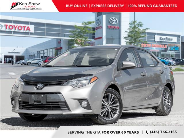2016 Toyota Corolla LE (Stk: 17206a) in Toronto - Image 1 of 20