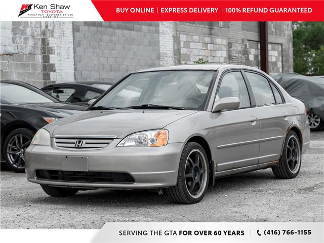 2002 Honda Civic LX-G (Stk: L12744AC) in Toronto - Image 1 of 2