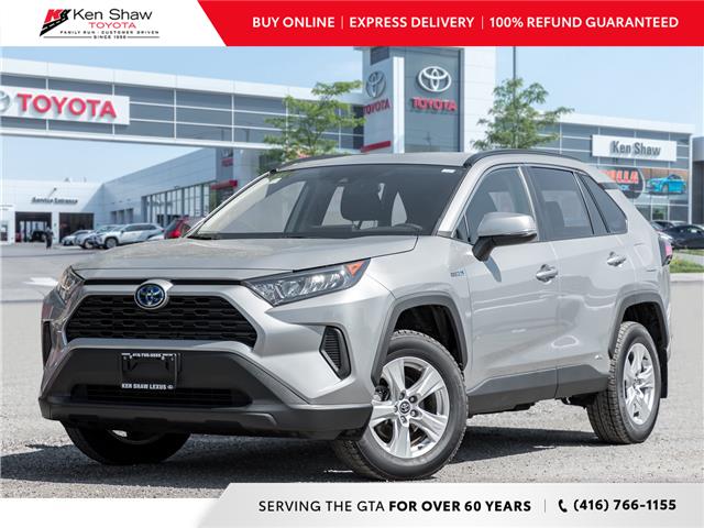 2019 Toyota RAV4 Hybrid LE (Stk: 17018A) in Toronto - Image 1 of 19