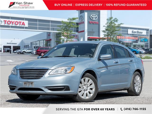 2013 Chrysler 200 LX (Stk: L12831BA) in Toronto - Image 1 of 16