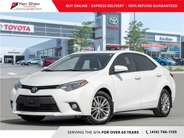 2014 Toyota Corolla LE (Stk: 17309A) in Toronto - Image 1 of 19