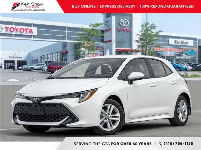 2019 Toyota Corolla Hatchback Base (Stk: 17369A) in Toronto - Image 1 of 18