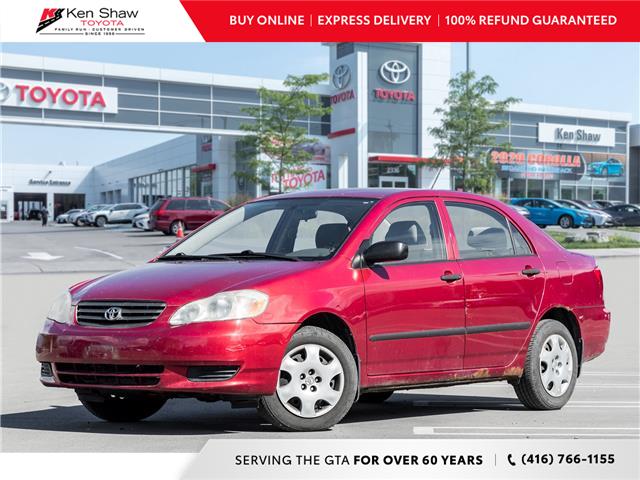 2003 Toyota Corolla CE (Stk: 8321XA) in Toronto - Image 1 of 16