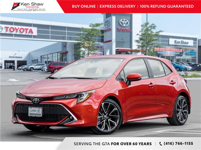 2019 Toyota Corolla Hatchback Base (Stk: L12806A) in Toronto - Image 1 of 20