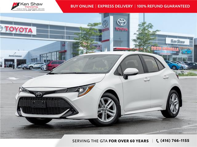 2019 Toyota Corolla Hatchback Base (Stk: 17400A) in Toronto - Image 1 of 18