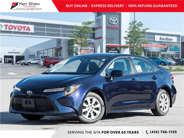2021 Toyota Corolla LE (Stk: 80121) in Toronto - Image 1 of 19