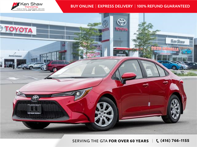 2021 Toyota Corolla LE (Stk: 80141) in Toronto - Image 1 of 20