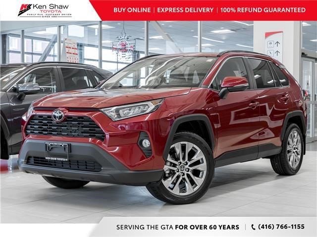 2021 Toyota RAV4 XLE (Stk: 80258) in Toronto - Image 1 of 24