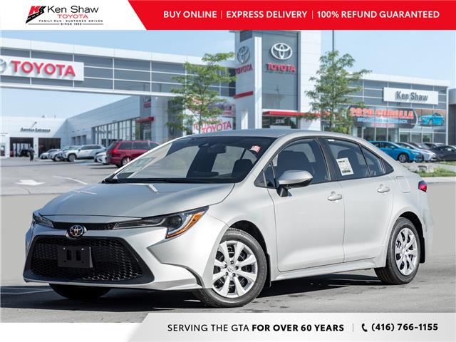 2021 Toyota Corolla LE (Stk: 80169) in Toronto - Image 1 of 19