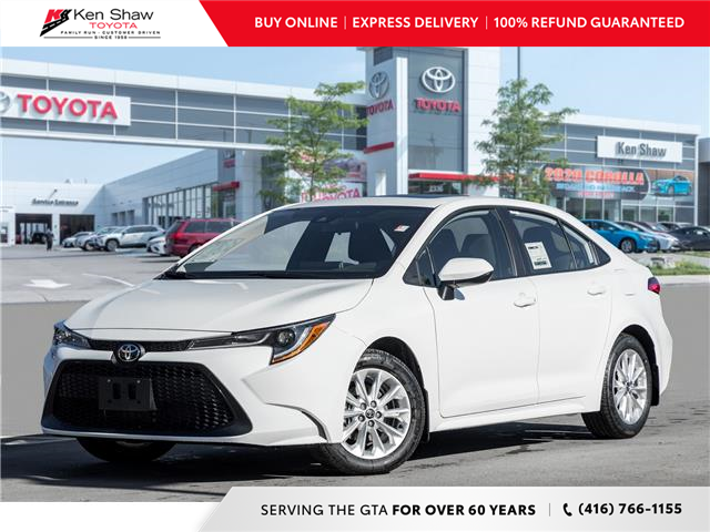 2021 Toyota Corolla LE (Stk: 80158) in Toronto - Image 1 of 22