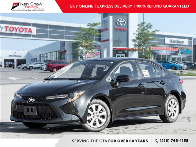 2021 Toyota Corolla LE (Stk: 80132) in Toronto - Image 1 of 19