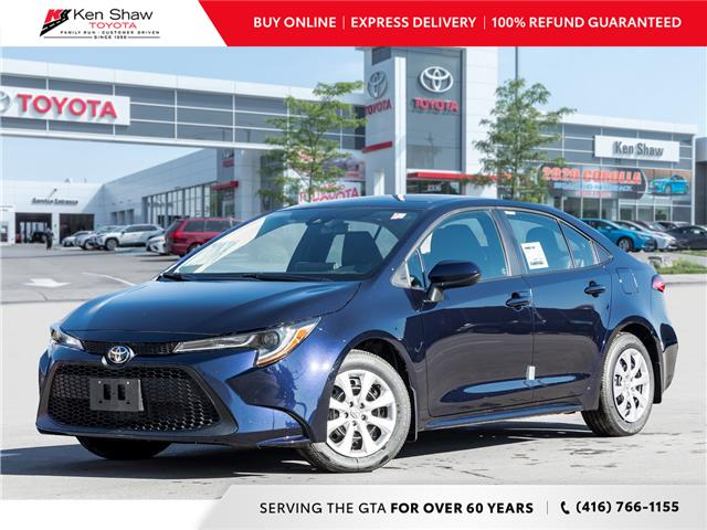 2021 Toyota Corolla LE (Stk: 80122) in Toronto - Image 1 of 19