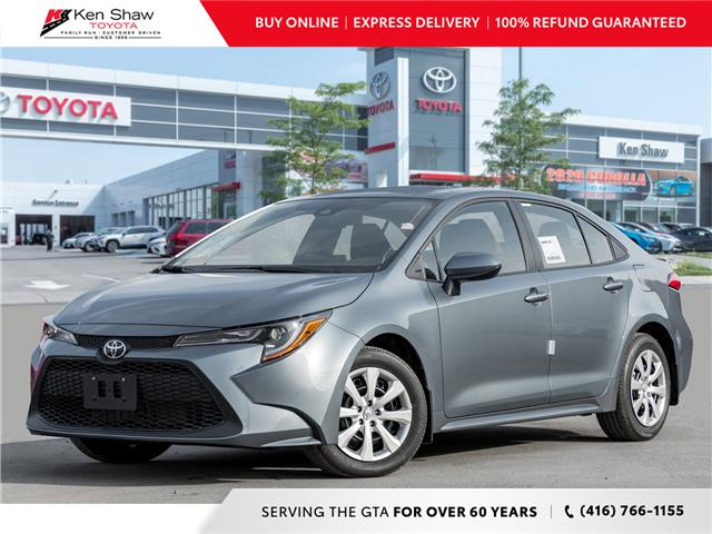 2021 Toyota Corolla LE (Stk: 80114) in Toronto - Image 1 of 21