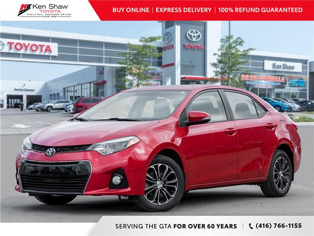 2015 Toyota Corolla S (Stk: 17458A) in Toronto - Image 1 of 19