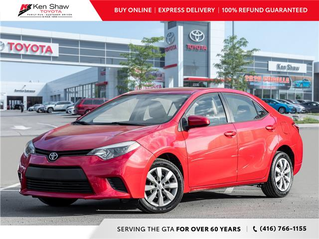 2014 Toyota Corolla LE (Stk: 17491A) in Toronto - Image 1 of 18