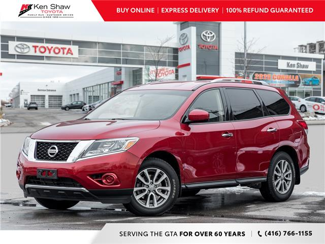 2016 Nissan Pathfinder S (Stk: L12994a) in Toronto - Image 1 of 19