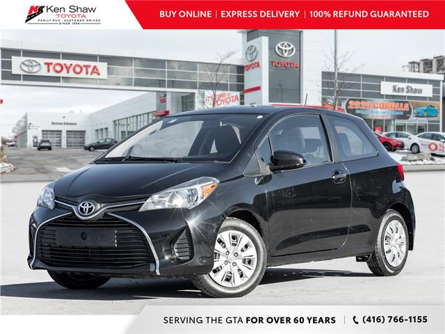 2016 Toyota Yaris CE (Stk: 17476a) in Toronto - Image 1 of 17