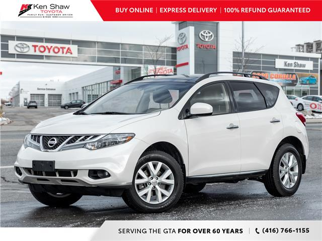 2013 Nissan Murano SL (Stk: N80432A) in Toronto - Image 1 of 21