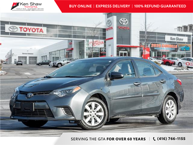 2016 Toyota Corolla LE (Stk: 80067A) in Toronto - Image 1 of 19