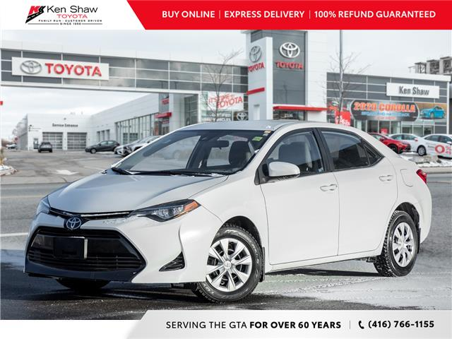 2017 Toyota Corolla CE (Stk: A17548A) in Toronto - Image 1 of 17