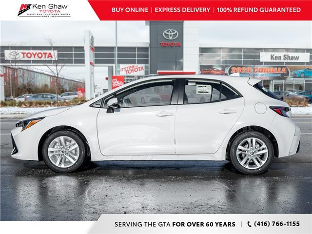 2021 Toyota Corolla Hatchback Base (Stk: 80425) in Toronto - Image 1 of 21