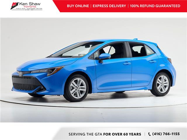 2020 Toyota Corolla Hatchback Base (Stk: 79731) in Toronto - Image 1 of 8