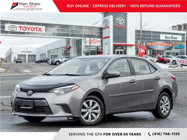 2016 Toyota Corolla CE (Stk: A17559A) in Toronto - Image 1 of 20