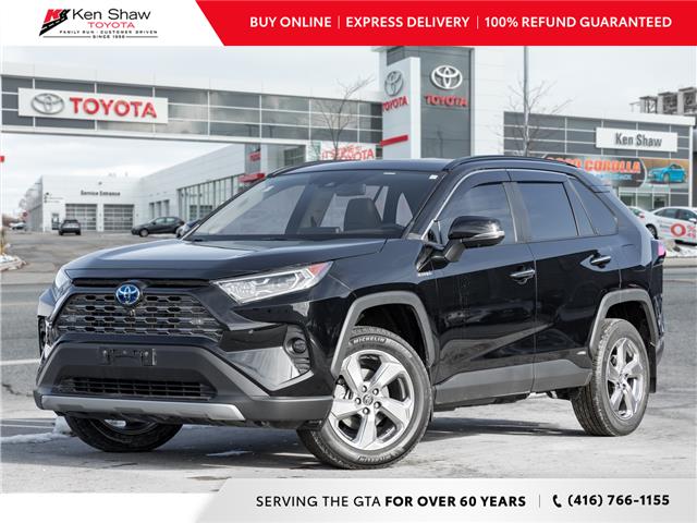2020 Toyota RAV4 Hybrid Limited (Stk: C17579A) in Toronto - Image 1 of 27