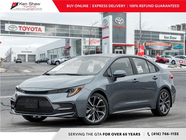 2021 Toyota Corolla SE (Stk: 80454) in Toronto - Image 1 of 22