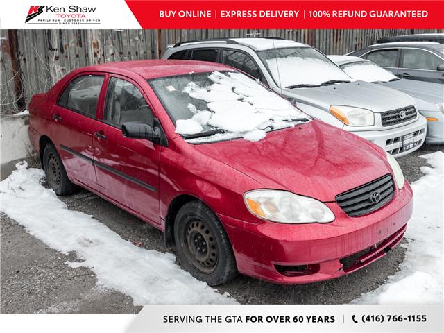 2003 Toyota Corolla LE (Stk: U13364AB) in Toronto - Image 1 of 2