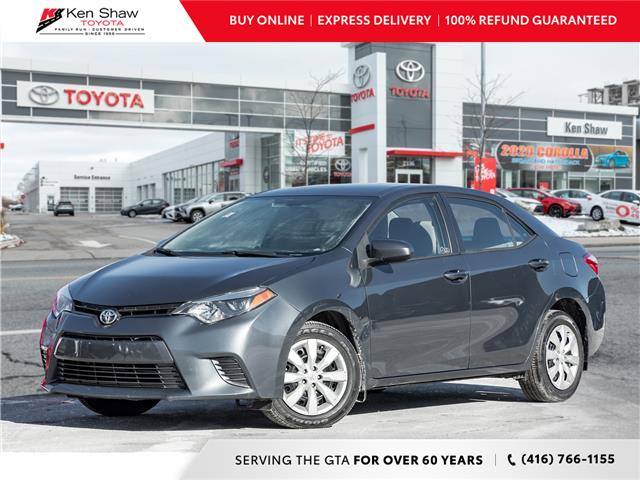 2015 Toyota Corolla LE (Stk: K17591A) in Toronto - Image 1 of 21