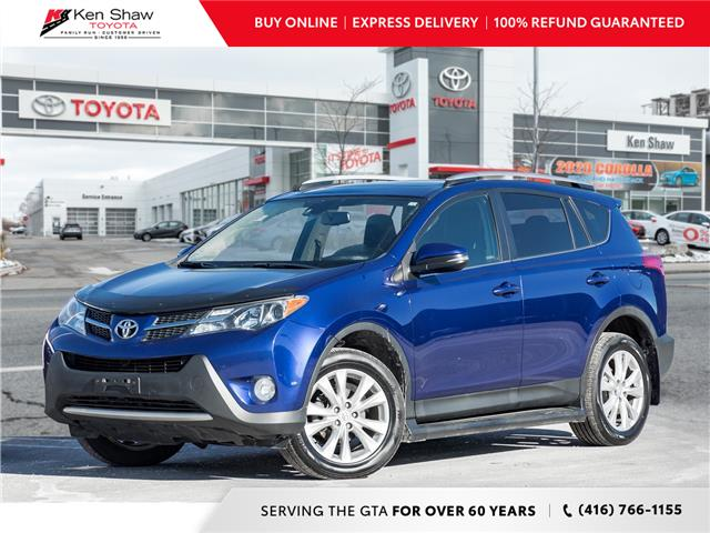 2015 Toyota RAV4 Limited (Stk: N80599A) in Toronto - Image 1 of 24