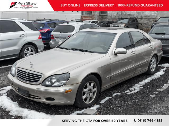 2002 Mercedes-Benz S-Class Base SWB (Stk: 17330AB) in Toronto - Image 1 of 2