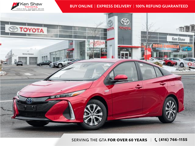 2021 Toyota Prius Prime Upgrade (Stk: 80443) in Toronto - Image 1 of 22