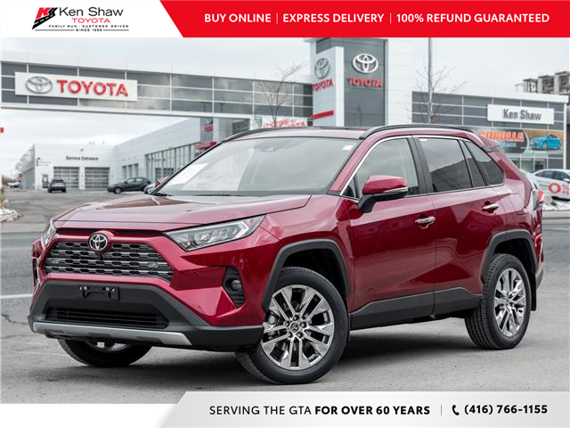 2021 Toyota RAV4 Limited (Stk: 80492) in Toronto - Image 1 of 26