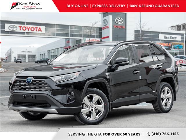 2021 Toyota RAV4 Hybrid Limited (Stk: 80493) in Toronto - Image 1 of 24