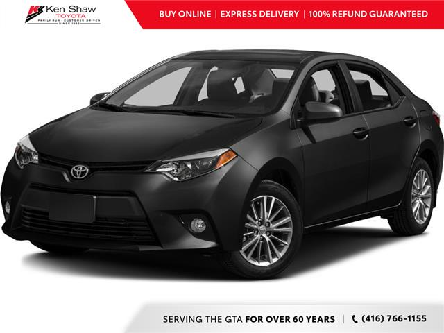 2016 Toyota Corolla LE (Stk: UR17522A) in Toronto - Image 1 of 1