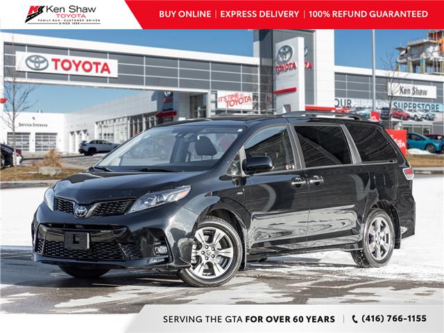 2020 Toyota Sienna SE 7-Passenger (Stk: UN17637A) in Toronto - Image 1 of 24
