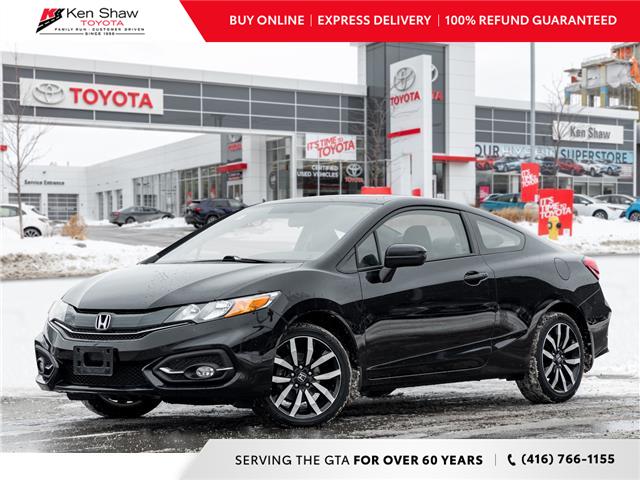 2015 Honda Civic EX-L Navi (Stk: P17652A) in Toronto - Image 1 of 23