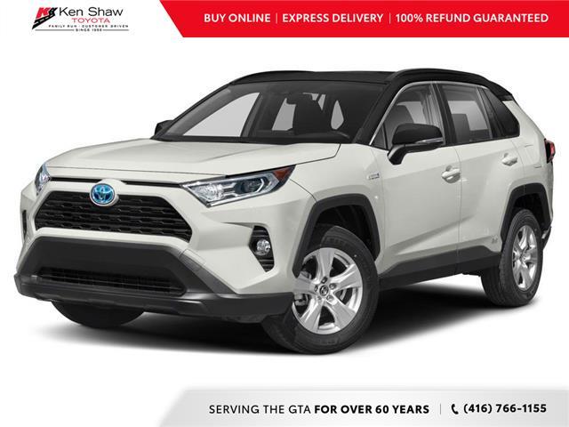 2021 Toyota RAV4 Hybrid XLE (Stk: 80600) in Toronto - Image 1 of 12