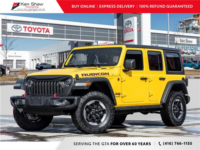 2019 Jeep Wrangler Unlimited Rubicon (Stk: I17688A) in Toronto - Image 1 of 24