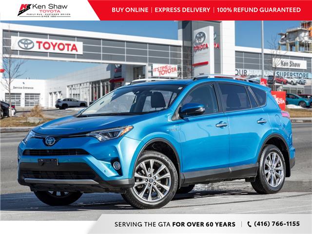2016 Toyota RAV4 Hybrid Limited (Stk: U16994AB) in Toronto - Image 1 of 24