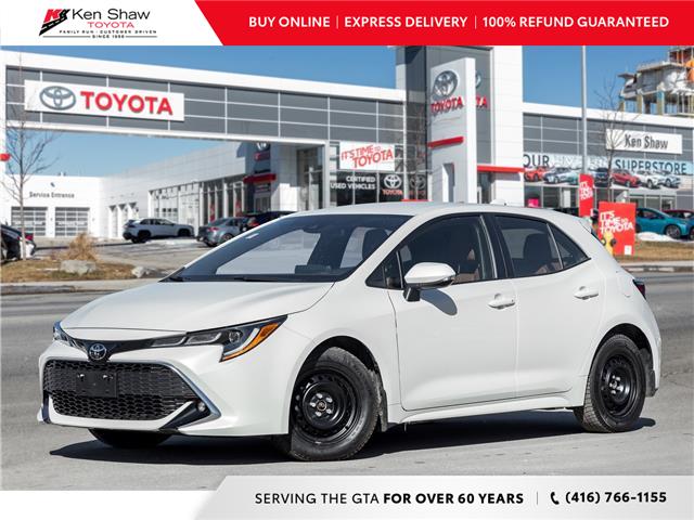2019 Toyota Corolla Hatchback Base (Stk: A17700A) in Toronto - Image 1 of 22
