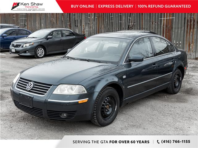 2004 Volkswagen Passat GLS 1.8T (Stk: UK17592A) in Toronto - Image 1 of 4